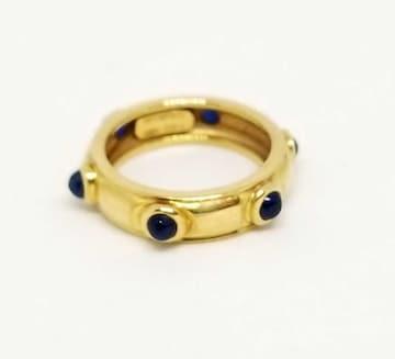 正規ティファニーリング指輪イエローゴールド9号K18750Y