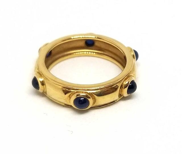 正規ティファニーリング指輪イエローゴールド9号K18750Y < ブランドの