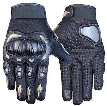 XL バイク グローブ 手袋 プロテクター オートバイ グレー