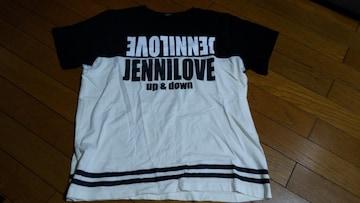 JL-ロゴビックTシャツ160ブラック、ホワイト