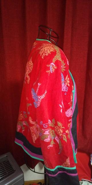 チャイナ服★上ジャケット☆サイズLL < 女性ファッションの