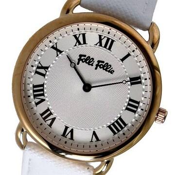 フォリフォリ クオーツ レディース 腕時計 WF16R013SPS-WH