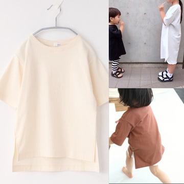 定価2,160円 LOWRYS FARM【新品】USAチュニックTシャツ ホワイト