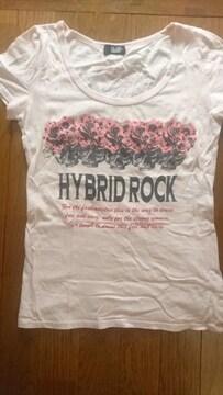 GLAD NEWS★スカル薔薇Tシャツ