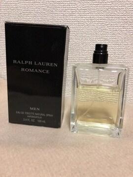 RALPH LAUREN ラルフローレン ロマンス メン EDT レア香水 100ml