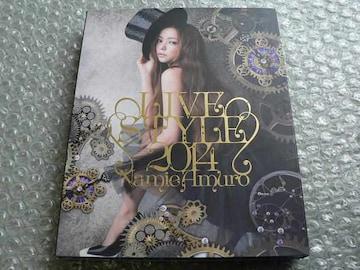 安室奈美恵/LIVE STYLE 2014【豪華盤:初回仕様】Blu-ray/他出品