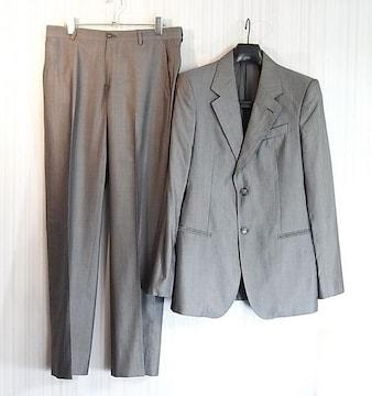 size48☆良品☆エンポリオアルマーニ シルク混ドレススーツ