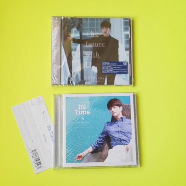 ソンモ&ソンジェ(超新星)【初回盤】CD+DVD豪華2枚組2点  < タレントグッズの