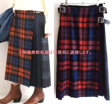 新品 19AW O'NEIL OF DUBLIN チェック プリーツ スカート