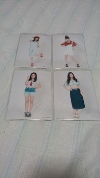 SKE48前のめり特典写真4枚セット