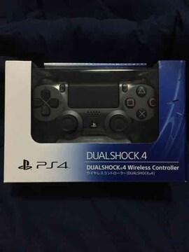 新品 デュアルショック4 スチールブラック PS4