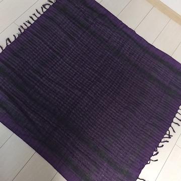 紫×黒☆ストール
