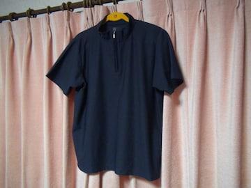 タキヒヨーのポロシャツ(L)ネイビー!
