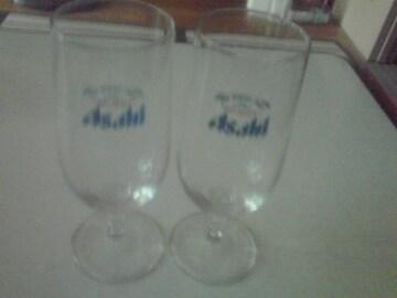美品  非売品   アサビール グラス 2個