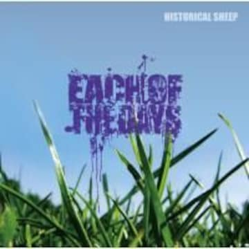 EACH OF THE DAYS  HISTORICAL SHEEP帯付き メタルコア/ハードコア