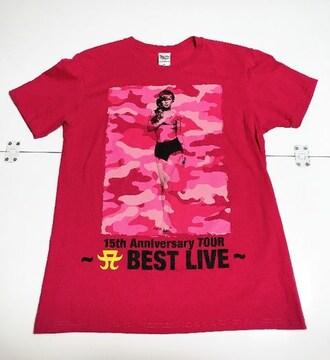 浜崎あゆみ15th Anniversary TOUR〜BEST LIVE〜Tシャツ、M
