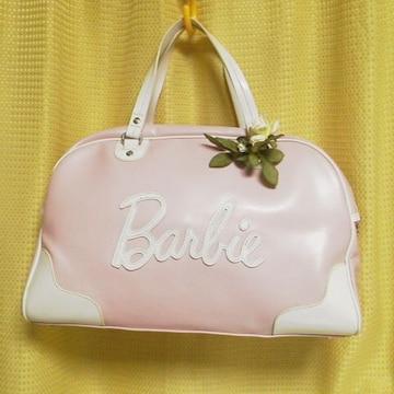 激レア★Barbie/バービー★【入手困難】ボストンバッグ(ピンク)姫系/セレブ