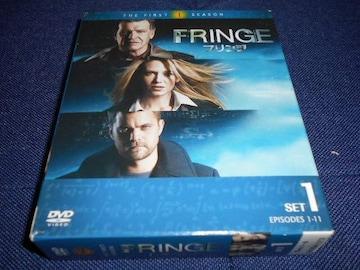 【DVD】 フリンジ シーズン1 DVD-BOX Disc1〜6