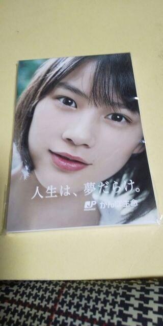 能年玲奈★かんぽ生命メモ帳■日本郵便  < タレントグッズの