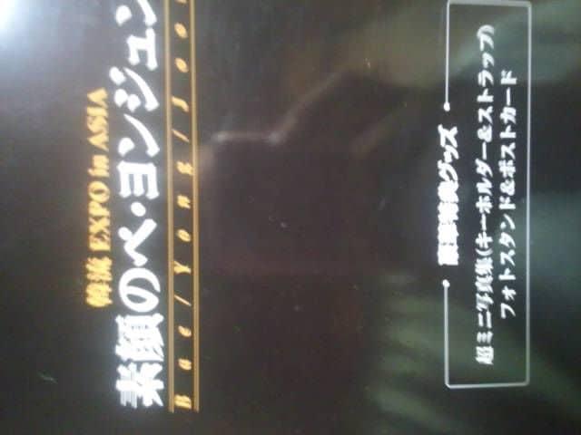 ヨン様2枚組DVD「素顔のペヨンジュン」 < タレントグッズの