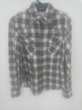 バッファローボブズ ボナファイドバッファロー チェックネルシャツ size1 極美品