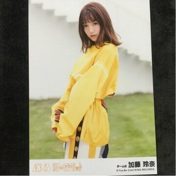 AKB48 加藤玲奈 11月のアンクレット 生写真