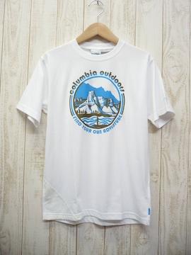 即決☆コロンビア 特価 PFG アングラーTシャツ WHT/L フィッシュング 新品