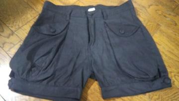 JEANASIS 黒 ショートパンツ 美品 フリーサイズ