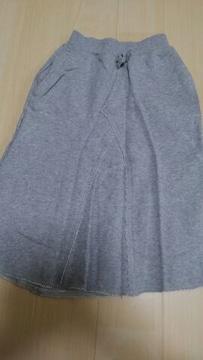 ジーユー110スウェットロングスカート