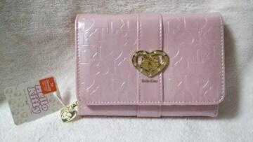 新品★HelloKitty ハローキティ★ピンクの可愛いお財布★大容量