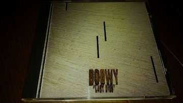 CDソフト BOOWY LAST GIGS