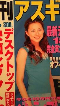 米倉涼子・長谷川恵美【週刊アスキー】2001年6月19日号