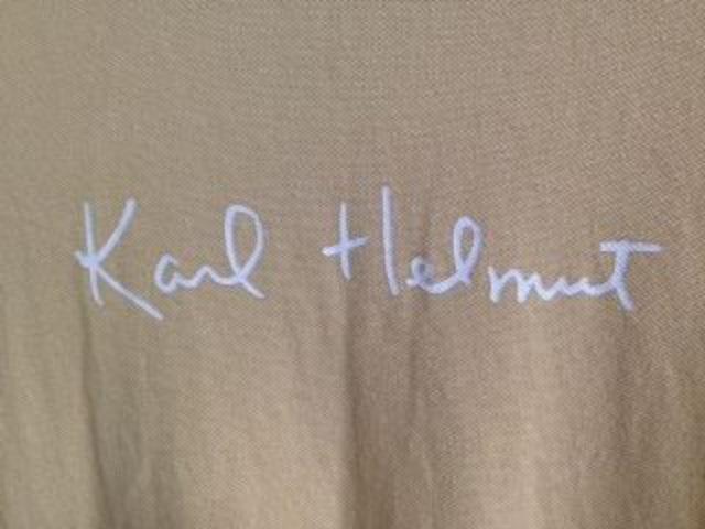 カールヘルム半袖ポロシャツ < 男性ファッションの