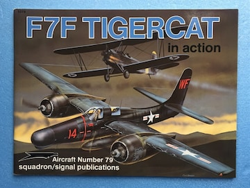 洋書 米海軍 攻撃機 F7F タイガーキャット プラモ 資料 写真 本