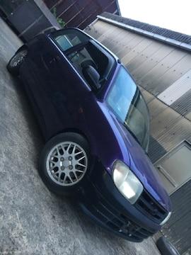 激安!全塗装 紫ラメ パープル L700 ミラ ローダウン キーレス