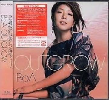 BoA★OUTGROW★初回限定盤(CD+DVD)★未開封