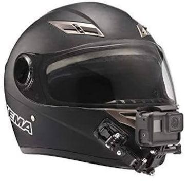 GoPro用オートバイヘルメットチンスイベル3ウェイピボット ヘル
