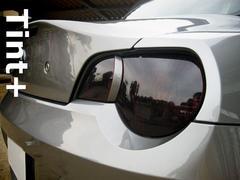 Tint+糊残りナシ BMW Z4 E85前期テールランプ スモークフィルム(HMSL付)