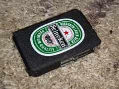 シガレットケース ターボライター内蔵 Heineken ハイネケン