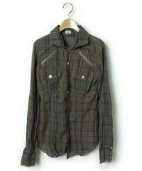 LGBルグランブルー チェックシャツG ♀1