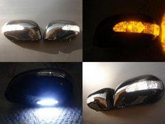 LEDウインカーウェルカムランプミラーカバー マーチ キューブKH3
