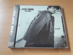 織田裕二CD「ステイ・ヒアーSTAY HERE」ポストカード付●