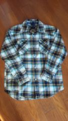 GAP*ネル 風チェックシャツ*150