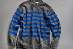 nonnative TRAVELER SWEATER C/A YARN BORDER ノンネイティブ
