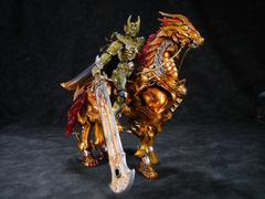 未使用 極魂 黄金騎士 ガロ(大河ver)&魔導馬 轟天+牙狼剣