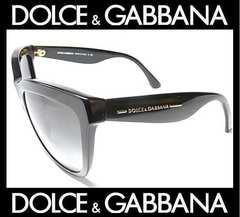 ドルガバ サングラス ブラックXグレーグラデーション DG4140-A 24300円 本物新品