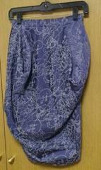 ヴィヴィアンLED LABELスカート ブルー系 サイズ1