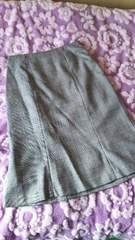 お洒落☆チェックのスカート☆ラメ入 黒&白 61
