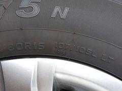 トヨタ純正ハイエース、 タイヤホイル四本セット