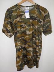 新品 カモフラ柄 メンズTシャツ処分品 旧価格1500円 M